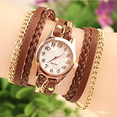 Women's Fashion Leather Chained Japanese Quartz Watch(Assorted Colors) Cool Watches Unique Watches