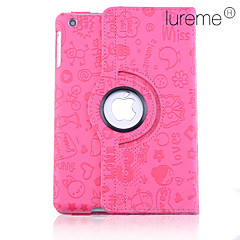Cartoon Pattern PU Leather Case for iPad mini 3, iPad mini 2, iPad mini