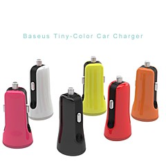 BASEUS™ Universal Intelligent Mini Dual USB Port Car Charger for iPhone 6/6 Plus/5S/iPad/iPad mini/iPod and Others