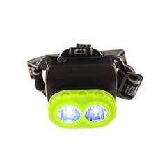 vert la lumière de la lampe 3W pêche de nuit en plein air pour la lampe à vélo phare de mineur