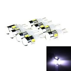 T10 3W 144lm 6 x SMD 5630 LED Yellow Light Car Turn Signal Corner Parking Lamp (DC 12V / 8 PCS)