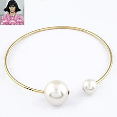 European Style Fashion Exaggerated Luxury Pearl Collar Necklace