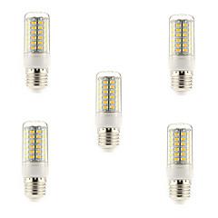 5W E14 G9 E26/E27 LED Mais-Birnen T 69 SMD 5730 450 lm Warmes Weiß Kühles Weiß AC 220-240 V 5 Stück