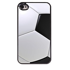 caso duro di alluminio di disegno di calcio per iPhone 4 / 4S