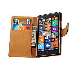 véritable cas de style portefeuille en cuir pour Nokia Lumia 930 (couleurs assorties)