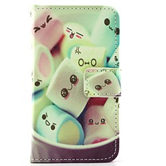 Cute mini Marshmallows Pattern Full Body Cases for iPhone 4/4S