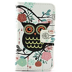 Cute Owl Pattern Full Body Cases for iPhone 4/4S
