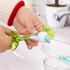 espinha de peixe de plástico em forma de creme dental squeezer (cor aleatória)