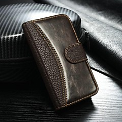 Luxury Retro  leather case for iPhone 4S 4Flip cover with card holder phone bags for iPhone 4(Assorted Color)