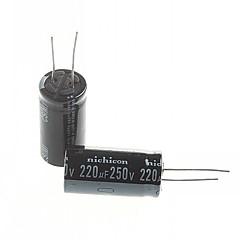 Electrolytic Capacitor  220UF 250V (2pcs)