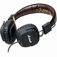 MARSHALL MAJOR Fever HIFI Rock Listening Headphone Signature Edition Wire Mic for Iphone