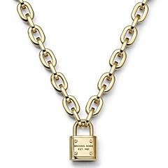 Fashion Lock Pendant Multicolor Stainless Steel Pendant Necklace(More Color)(1 Pc)