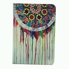 Beautiful Coloured Drawing Or Pattern Design PU Leather Full Body Case Cover for iPad mini 1/2/3
