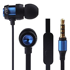 JTX-jl580 3,5 mm støjreducerende mike in-ear øretelefon til iPhone og andre