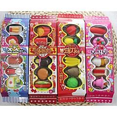 Biscuit Boxes Eraser(1 Set Random Color)