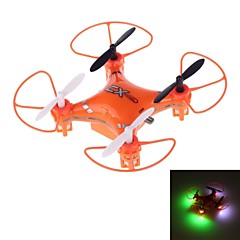 X023 Mini Drone 2.4GHz 5-Channel 6-Axis R/C Quadcopter with Gyro and LED Light (Orange)