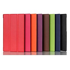 7 Inch Three Folding Pattern High Quality PU Leather Case for ASUS MeMO Pad 7(ME572CL)(Assorted Colors)