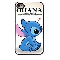 Ohana signifie étui design en aluminium pour iPhone 4 / 4S