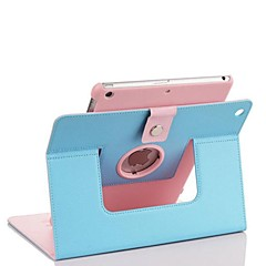 2015 Newest High Quality PU Leather Full Body Case for iPad Air (Assorted Colors)