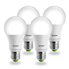 E26/E27 LED gömbbúrás izzók G60 COB 560-630 lm Hideg fehér AC 100-240 V 4 db.