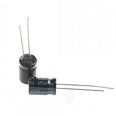 Electrolytic Capacitor  470UF 16V (20pcs)