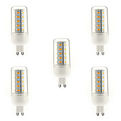 7W E14 G9 E26/E27 LED Corn Lights T 36 SMD 5730 700 lm Warm White Cool White Natural White AC 220-240 V 5 pcs