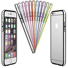 pc& TPU rama zderzaka dla iPhone 6s 6 plus