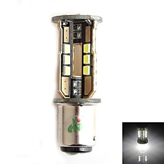 HJ 1157 10W 900LM 5500-6000K 30x2835 SMD LED White Light Bulb for Car Brake Light (12-24V,1 Piece)
