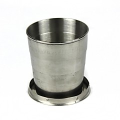 Aluminium beker zilver Enkel