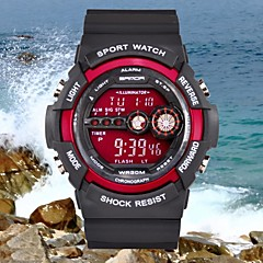 Men's Military Sports Multi-Function LCD Water And Shock Resistant Fashion Digital Wrist Watch (Assorted Colors) Cool Watch Unique Watch