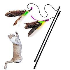 애완 동물 고양이를위한 아름다운 새 모양의 연주 스틱