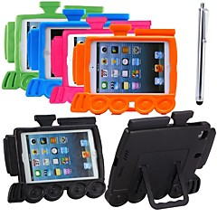 TRAIN Style Shockproof Kid Safe EVA Foam Handle Case Cover Stand for iPad mini 3/2/1 (Assorted Colors)