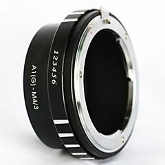 Monture Nikon F g af-objectif AF aux micro 4/3 adaptateur m43 e-PL6 E-M1 OM-D GH4 GF6