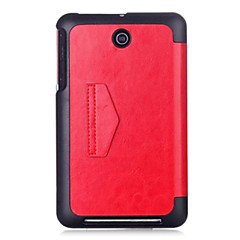 """Shy Bear™ Leather Cover Stand Case for Asus Memo Pad 7 ME176C ME176CX 7"""" Inch Tablet"""