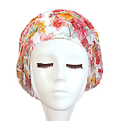 Sanqi Women's Fashional Sweet Style Waterproof Anti-Slip Ear & Hair Protection Swimming Cap