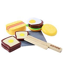 benho gummi tre vestlig mat satt av tre rollespill leketøy