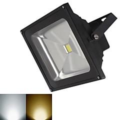 jiawen® czarny IP65 20W 1800lm 3000-3200k / 6000-6500k ciepłe białe światło / białe światło diodowa przeciwpowodziowej (DC 12V)