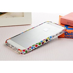 New Crystal Transparent Color Frame Cartoon for iPhone 4/4S(Assorted Colors)