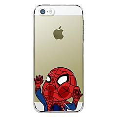 iPhone 5/5S iPhone - Desene Animate/Model special/Noutate/Anime - Alte (Multicolor , TPU)