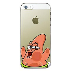Iphone 5/iPhone 5S - Anders - Cartoon/Speciaal Design/Nieuwigheid/Anime ( Multi-kleur , Tpu )