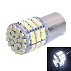 gc® 1156 / BA15s 7.5W 500lm 85x3020 SMD valkoinen johtanut ista puolestaan ohjauksen / jarruvalon lamppu (DC12V)