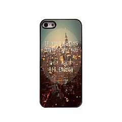 sua caixa de alumínio projeto de sonho para iPhone 5 / 5s