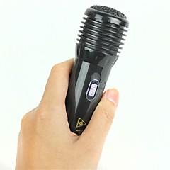 choque do seu amigo-microfone choque elétrico - preto (brincadeira)