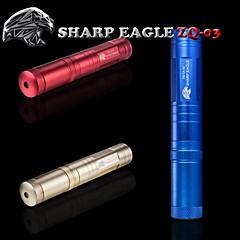 forte aigle / ZQ-la-03 pointeur laser vert (5mw.532nm.1x18650.multi couleur)