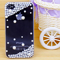 Transparent Pearl Back Cover for iPhone 5/5S