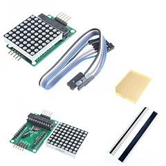 MAX7219 point rouge module de matrice et accessoires pour Arduino