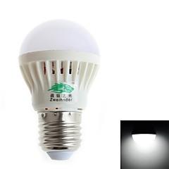 Ampoules Globe Zweihnder 1 pièce E26/E27 3 W 6 SMD 2835 250 LM 5500-6000/3000-3500K K AC 85-265 V
