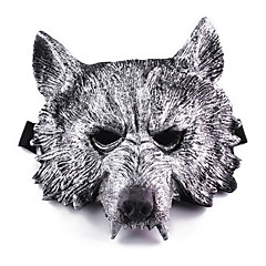 Halloween Masks / Masquerade Masks Wolf Head Holiday Supplies Halloween / Masquerade 1Pcs