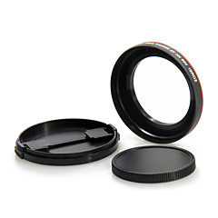 ZOMEI Slim 58mm Wide-angle Lens 0.45X Wide Angle Times Without Hidden Corners