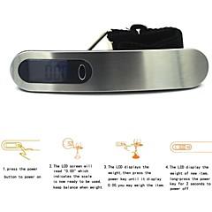 여행 가방 무게 후크 규모 50kg / 10g을 걸 LCD 디지털 전자 휴대용